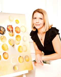 Artist Cynthia Ligeros