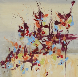 Fleur de Nostalgie (Flower of Longing) 30x30
