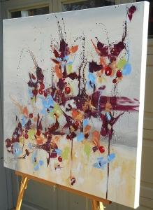 Side view of Fleur de Nostalgie (Flower of Longing)